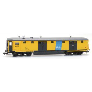 Ongevallenwagen NS 511-0, geel, Dick, NS-logo, depot Zwolle, V